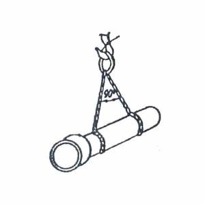 Схема строповки труб - 2