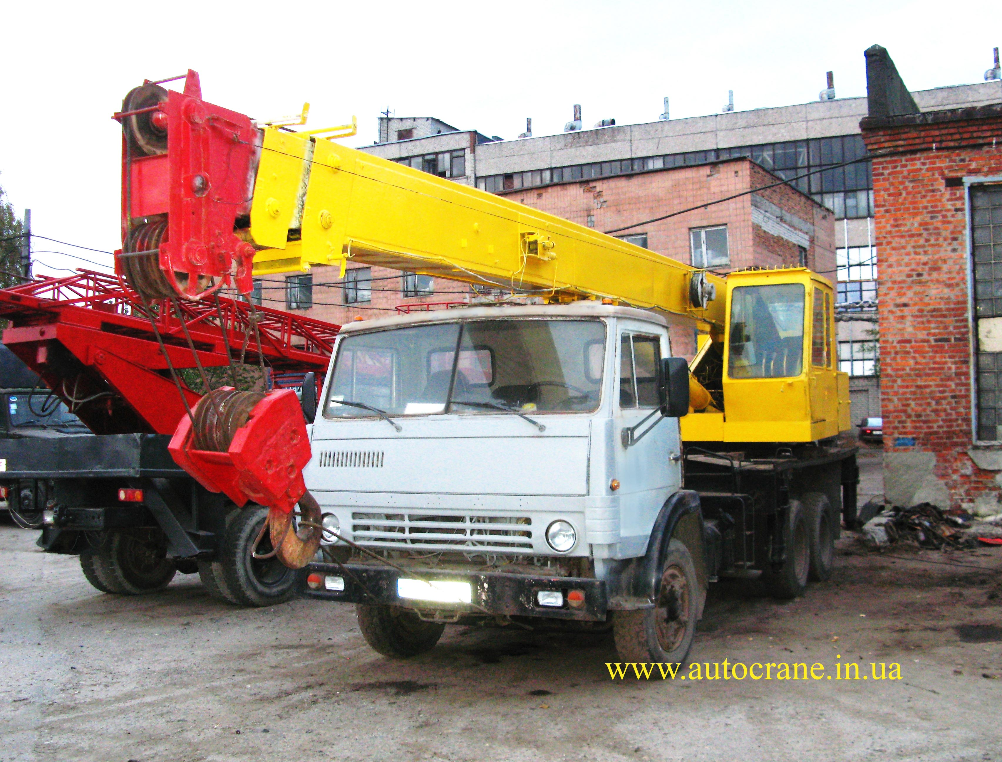 Аренда автокрана КС-4574-1 на шасси КАМАЗ 53213