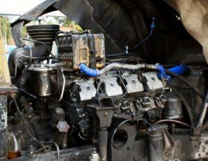 Первый пуск двигателя КАМАЗ после замены поршневой